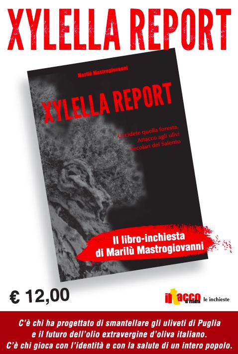 locandina xylella report jpeg